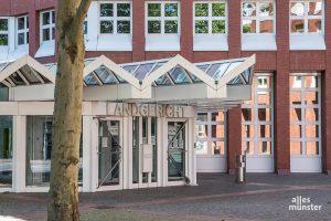 Im Missbrauchskomplex von Münster wurde am Mittag vor dem Landgericht Münster das Urteil gegen die damalige Lebensgefährtin von Adrian V. gesprochen. (Archivbild: Thomas Hölscher)