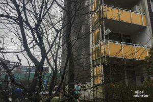 Die Betroffenen beklagen ein Abfallen der Wohnqualität. (Foto: Thomas Hölscher)