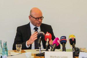 Einmal mehr lobte Oberbürgermeister Markus Lewe die gute Zusammenarbeit derEinsatzkräfte. (Foto: privat)