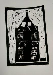 Linoldruck bringt eure selbstgeschnittenen Motive ganz analog zu Papier. (Foto: Kilian Ziebarth)