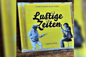 """Das neue Album """"Lustige Zeiten von Friedel Geratsch. (Foto: Marius Münster)"""