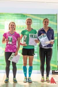 (v.l.:) Zuzana Krchova (2), Lenka Svabikova (1) und Margot Wyrwoll (3). (Foto: wf / Weber)