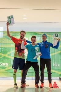 (v.l.:) Mirosav Burian (2.), Tomas Macecek (1.) und Matja Miklosa (3.). (Foto: wf / Weber)