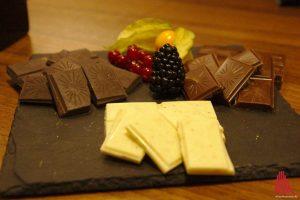 Die Mövenpick-Schokoladen. (Foto: Michael Wietholt)