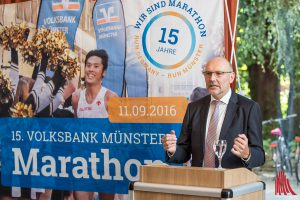 Marathon-Chef Michael Brinkmann. (Foto: cabe)