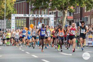 Die 19. Auflage des Volksbank-Münster-Marathons ist längst abgesagt worden - aber die Freunde des Laufsports werden sich am 20. September trotzdem bewegen. (Archivbild: Carsten Bender)