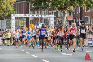 Beim Marathon am Start: Läufer aus rund 30 Nationen. (Foto: Carsten Bender)