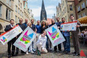 """Vom 8. bis 10. Juli wird in Münsters Innenstadt beim Stadtfest """"Münster Mittendrin"""" wieder gefeiert. (Foto: cabe)"""