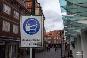 Die harten Regeln des Lockdowns bringen Münster die niedrigsten Inzidenz-Werte in ganz NRW. (Foto: Thomas Hölscher)
