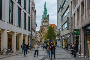 Die Stadt Münster will Corona-Modellstadt werden und mit testbasierten Öffnungen besonders stark betroffenen Wirtschaftszweigen entgegenkommen. (Archivbild: Thomas Hölscher)