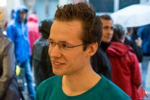 Amnesty-Sprecher Marcus Schmetter. (Foto: th)