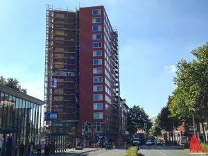 """Für die Wohneinheiten im neuen Metropolis-Hochhaus sollen nun doch keine """"Mondmieten"""" erhoben werden. (Archivbild: th)"""