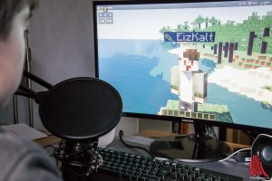 Minecraft gehört zu den beliebtesten Computerspielen bei Jugendlichen. (Foto: so)