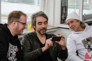 Frühkindliche Musikförderung auch im Hause Löchel. (Foto: th)