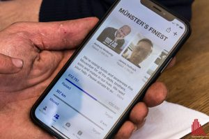 Alle Infos gibt es auch in der Movember-App. (Foto: Thomas Hölscher)