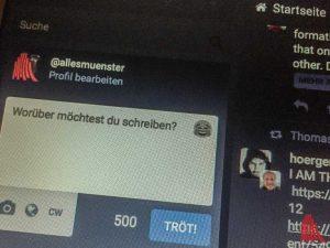 Mit muenster.im geht ein soziales Netzwerk für Münster an den Start. (Foto: Screenshot)