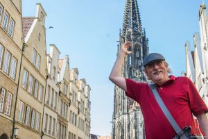 Münster entdecken: Jochen Lissel ist Stadtführer in Münster. (Foto: Thomas Hölscher)