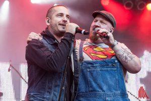Ron und Richie, die beiden Sänger von Schramme 11. (Foto: sg)