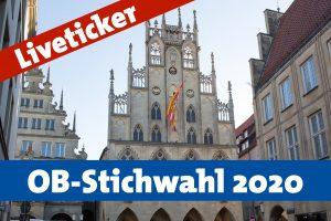 Die OB-Stichwahl 2020 in Münster.