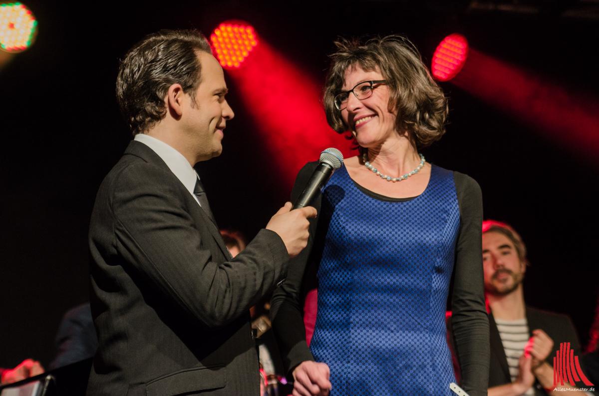 Für Gudrun Bruns von der Krebsberatungsstelle war der Abend ein voller Erfolg. (Foto: th)