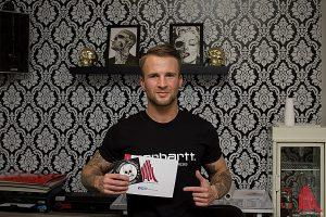 Besuch von ALLES MÜNSTER bei Nico Peters im Basement Tattooshop. (Foto: tm)