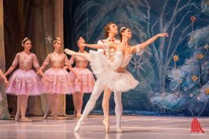 Sehr leicht und gefühlvoll erzählt das Ensemble des Moskauer Balletts die Geschichte von Mascha und ihrem Nussknacker. (Foto: th)