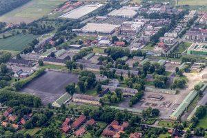 Das Gelände der Oxford-Kaserne in Gievenbeck. (Foto: n.n. / privat)