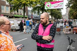 Wir sprachen mit Joachim Bick von der Interessengemeinschaft Fahrradstadt Münster (Foto: Thomas Hölscher)