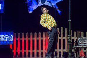 """Comedian Paul Panzer weiß Bescheid: """"Wir alle haben einen Dachschaden"""". (Foto: th)"""