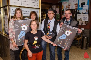 Das Team vom Kinderfilmfest (v.l.): Christina Adam, Gisela Haak, Ilka Maas, Bernward Hoffmann und Hans Peter Droberg. (Foto: th)