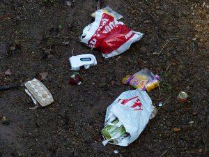 Viele Plastiktüten landen nach einmaligem Gebrauch im Müll oder in der Umwelt. (Foto: CC0)