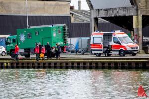 Der Vermisste William Ngala wurde tot aus dem Hafenbecken geborgen. (Foto: th)