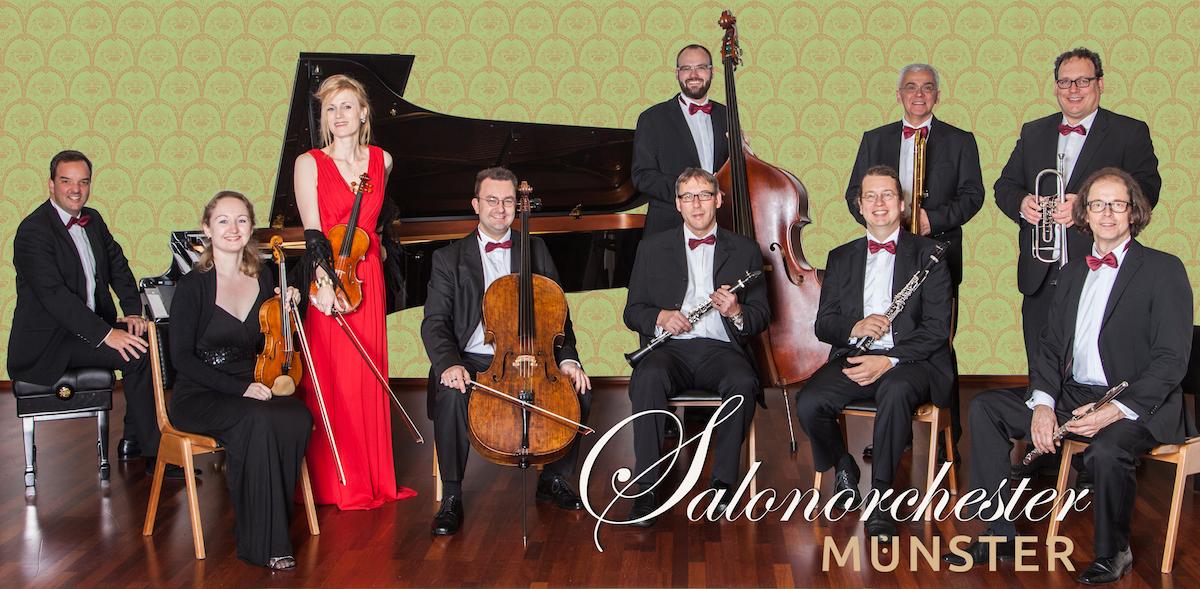 Das Salonorchester Münster spielt beim MS-Montagskonzert. (Foto: Salonorchester Münster)