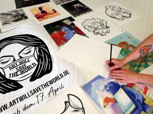 Kunst in verschiedensten Ausführungen gibt es. (Foto: artwillsavetheworld.de)