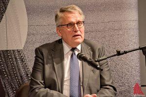 ZdK-Präsident Thomas Sternberg verteidigt die Entscheidung, die AfD geladen zu haben. (Foto: mb)
