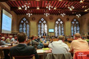 Der Stadtrat und die Bezirksvertretungen beginnen mit ihren Sitzungen - natürlich unter Einhaltung der Corona-Schutzmaßnahmen. Hier ein Archivbild. (Foto: AM)