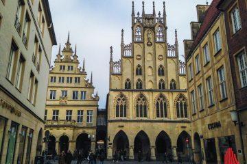 Interessierte aus Münster und der Region sind willkommen, wenn Land und Stadt am 31. August zu einem Benelux-Dialog in Münsters Rathaus einladen. (Archivbild: Thomas Hölscher)