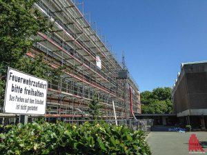 Auch am Ratsgymnasium wird kräftig gewerkelt. (Foto: th)