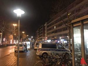 Bei der groß angelegten Razzia waren über 150 Polizisten im Einsatz. (Foto: Thalmann)