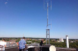 Die neue Antenne ist deutlich leistungsstärker. So kann Radio Q auch über die Stadtgrenzen hinaus empfangen werden. (Foto: Radio Q)