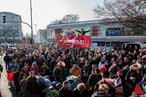 Sonntag und Montag hat der Karneval in der Stadt Vorfahrt. (Foto: sg)