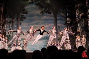Das Staatlich Russiche Ballett Moskau entzückt das Publikum. (Foto: th)