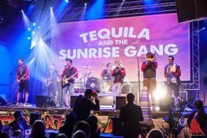 Tequila and the Sunrise Gang sorgten für musikalische Unterhaltung. (Foto: sg)