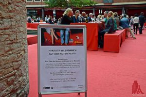 Mittelpunkt beim Schauraum ist der Rote Platz im Rathausinnenhof. (Foto: Tanja Sollwedel)