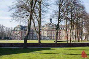 DieUni Münster hat bei einem internationalen Hochschulranking in mehreren Bereichen in der Spitzengruppe gepunktet. (Archivbild: Thomas Hölscher)