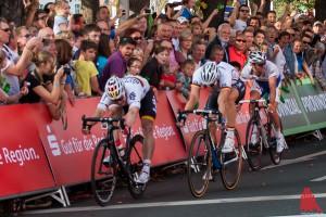 Am Samstag hat der Radsport Vorrang auf Münsters Straßen. (Foto: sg)