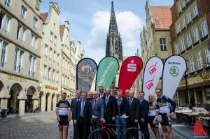 Am 3. Oktober findet zum mittlerweile 10. Mal der Sparkassen Münsterland Giro statt. (Foto: th)