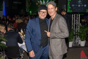 skate-aid Anstifter Titus Dittmann (li.) mit Schauspieler Wotan Wilke Möhring. (Foto: th)