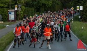 Ein letztes Mal in diesem Jahr werden Hunderte von Skatern durch die Stadt rollen. (Foto: ml)
