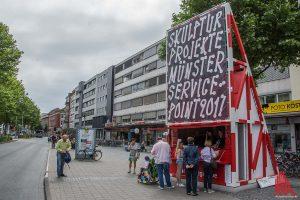 Der Servicepoint gegenüber dem Bahnhof ist täglich von 10 bis 18 Uhr geöffnet. (Foto: th)